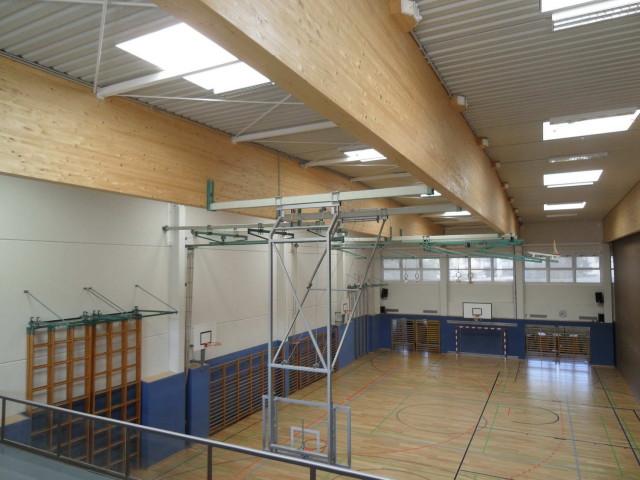 BSZ Auhof 3-fach Turnsaal